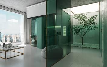 50平米公寓轻奢风格客厅装修图片大全