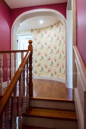 120平米三室两厅现代简约风格楼梯间欣赏图