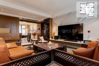 10-15万140平米复式中式风格客厅装修案例