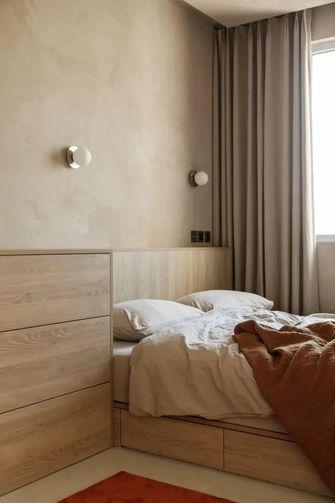 经济型50平米公寓现代简约风格卧室欣赏图