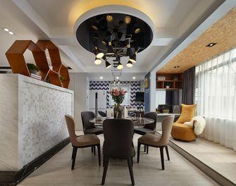 90平米三室一厅混搭风格餐厅装修效果图