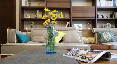 3万以下140平米别墅东南亚风格客厅设计图