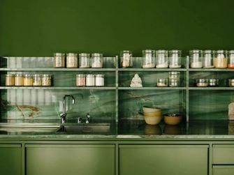豪华型120平米一室一厅现代简约风格餐厅设计图