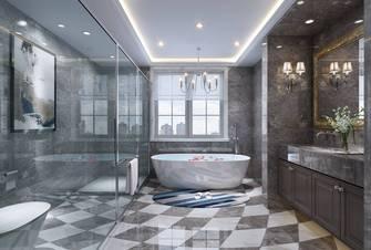 豪华型140平米别墅欧式风格卫生间装修图片大全