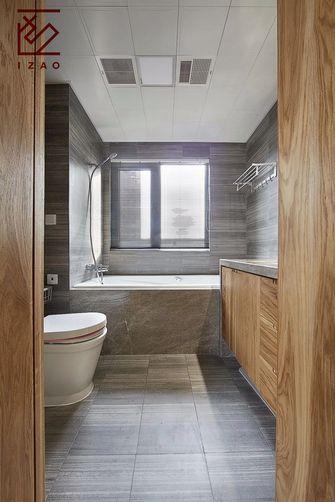 经济型130平米三室两厅中式风格卫生间图片