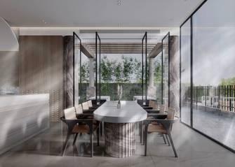 豪华型140平米别墅现代简约风格餐厅图