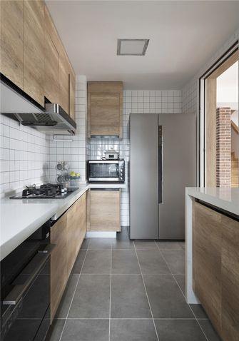 140平米四室三厅现代简约风格厨房设计图