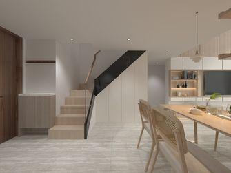 富裕型80平米三室一厅北欧风格楼梯间装修效果图
