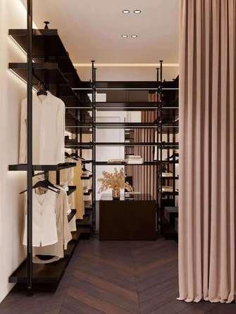 20万以上140平米四室两厅混搭风格衣帽间图片