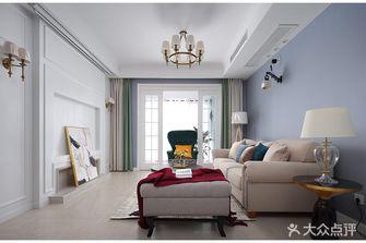 富裕型100平米美式风格客厅装修案例