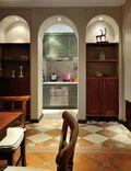 110平米三田园风格客厅装修案例