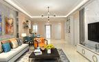 经济型120平米三室三厅公装风格客厅装修图片大全