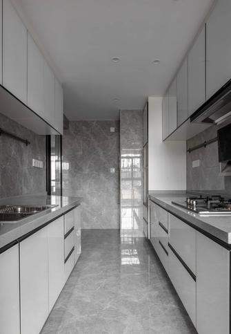 120平米一室一厅现代简约风格厨房装修效果图