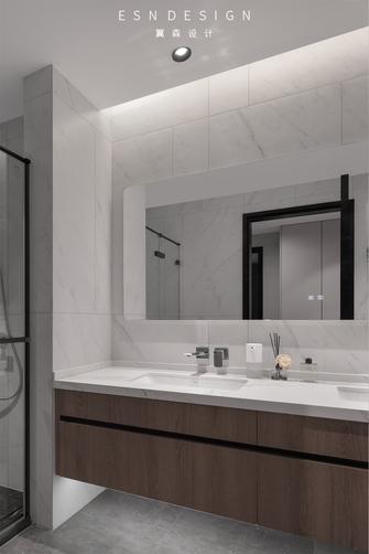 20万以上140平米四室两厅现代简约风格卫生间图片