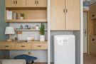 经济型50平米小户型北欧风格书房装修案例