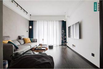 富裕型110平米三室两厅工业风风格客厅图片大全