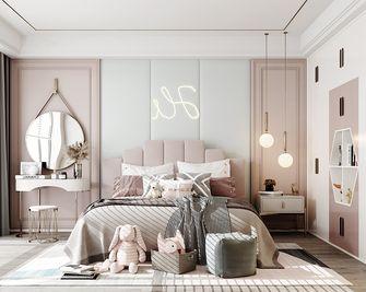 110平米四室两厅轻奢风格卧室装修案例