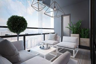 20万以上140平米四室两厅美式风格阳台装修案例