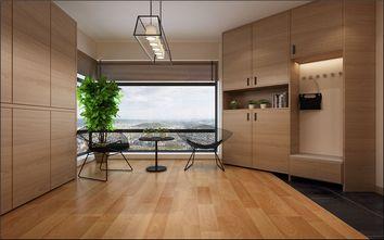 富裕型140平米三室两厅日式风格阳台设计图