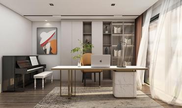 140平米三室两厅轻奢风格书房效果图