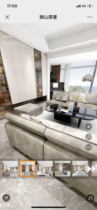 现代简约风格客厅装修案例