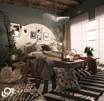 3万以下120平米田园风格卧室图片