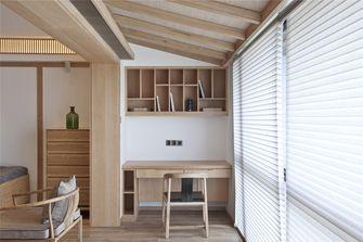 经济型90平米三室一厅中式风格阳台效果图