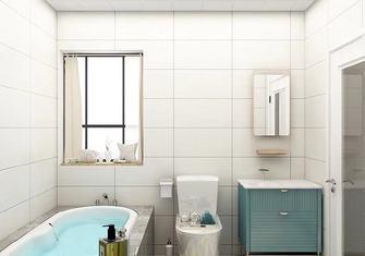富裕型110平米三法式风格卫生间设计图