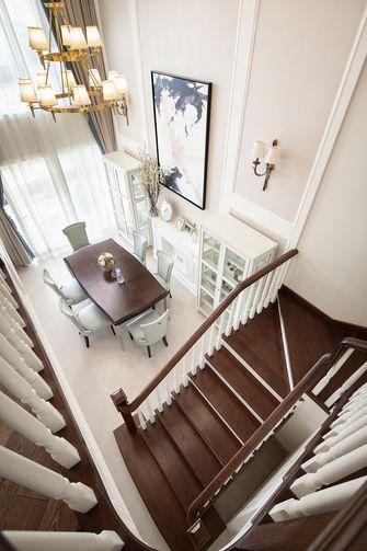 20万以上140平米复式美式风格楼梯间装修效果图