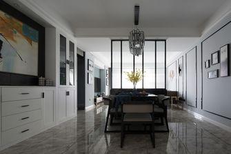 110平米三室两厅北欧风格餐厅图