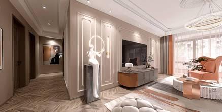 经济型140平米三室两厅法式风格客厅装修效果图