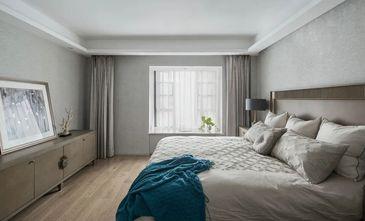 140平米三室一厅美式风格卧室图