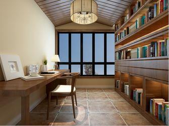 富裕型140平米三室两厅美式风格书房装修图片大全