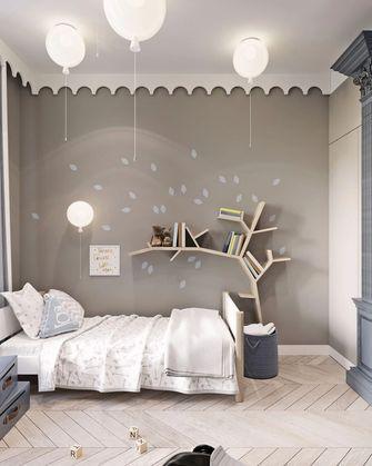 120平米三室一厅港式风格卧室图