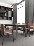 110平米现代简约风格餐厅装修效果图