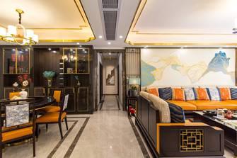 140平米四室一厅现代简约风格走廊图片