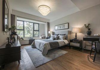 130平米三室一厅中式风格卧室装修图片大全