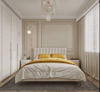100平米三室两厅法式风格卧室图
