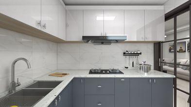 10-15万80平米三室两厅现代简约风格厨房图