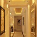 富裕型140平米三欧式风格走廊图片大全