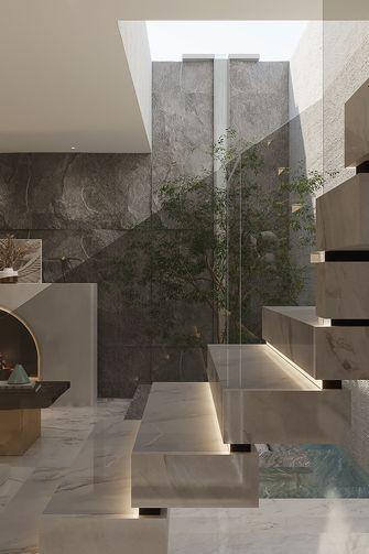 140平米复式法式风格楼梯间图片