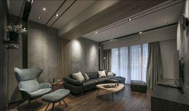 富裕型100平米三室一厅轻奢风格客厅装修案例