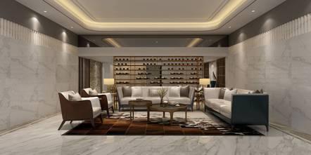 豪华型140平米别墅轻奢风格影音室图