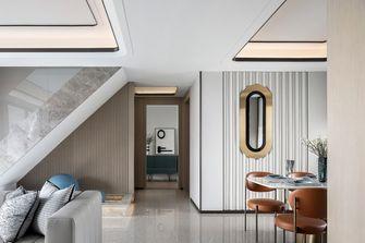 3万以下140平米复式轻奢风格楼梯间图片大全