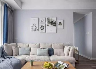 5-10万60平米北欧风格客厅图