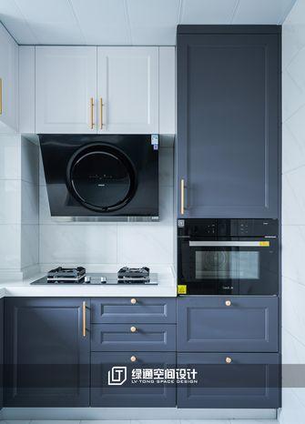 10-15万90平米三美式风格厨房设计图