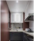 经济型80平米三欧式风格厨房图