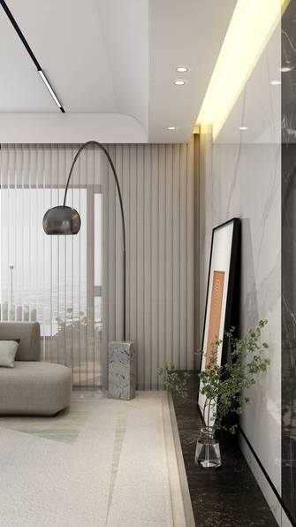 3万以下140平米复式现代简约风格客厅图片