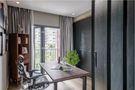 富裕型120平米三室两厅现代简约风格书房效果图