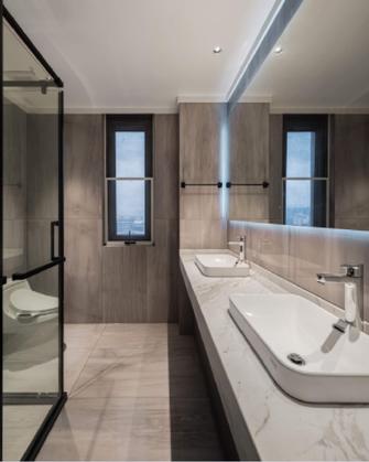 20万以上140平米四现代简约风格卫生间装修效果图